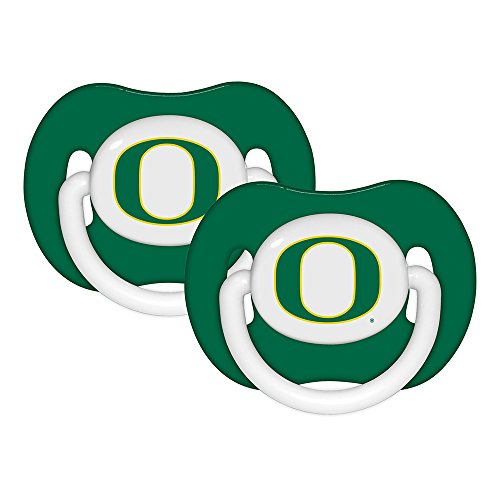 Baby Fanatic Pacifier (2 Pack) - University of Oregon Team Colors