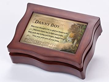 Cottage Garden Irish Danny Boy Wavy Woodgrain Digital Music