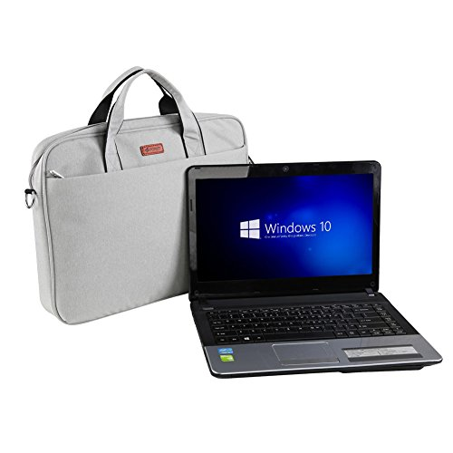 fopati 15,6 Multifunktional Oxford Wasserdicht Stoff tragbare Laptop Tasche aktentasche Tragetasche für iPad, Laptop, Tablet Macbook, Notebook
