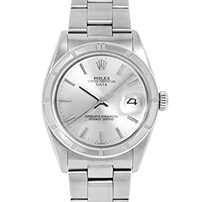 Rolex Date Automatic-self-Wind Male Watch 1501 (Certified Pre-Owned) by Rolex