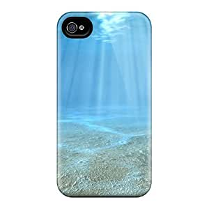 Awesome Phone Case Defender Tpu Hard Case Cover For Iphone 4/4s- Bottom Of The Sea
