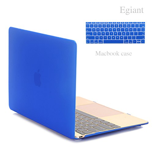 Egiant-Macbook 12 Inch New Hard Case Covers - Rubberized