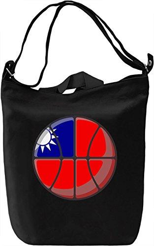 Taiwan Basketball Borsa Giornaliera Canvas Canvas Day Bag| 100% Premium Cotton Canvas| DTG Printing|
