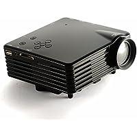 COCOJustDo Portable Multimedia Mini LED Projector with USB VGA HDMI AV for Party,Home Entertainment,20000 Hours Led life