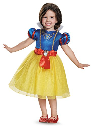 Snow White Toddler Classic Costume, Large (4-6x)