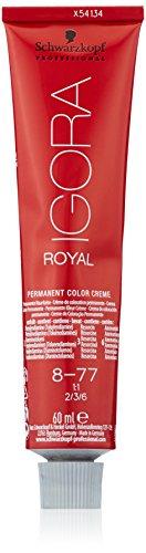 🥇 Schwarzkopf Professional Igora Royal 8-77 02/13 Tinte – 60 ml