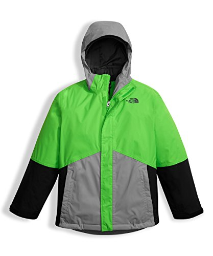 The North Face Big Boys' Boundary Triclimate Jacket - krypton green, l/14-16 by The North Face