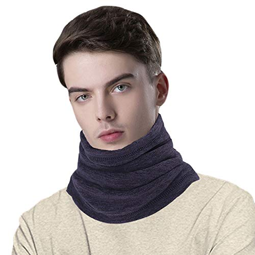 CUIMEI Neck Gaiter Neck Warmer Fleece Tube Face Mask Scarf for Cold Weather in Winter, Ultimate Thermal Retention for Skiing Motorcycle Snowboard Cycling