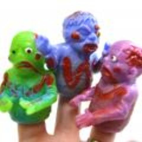 Zombie Finger Puppets Case Pack 96 , Kid ,Toy , Hobbie , Nice Gift