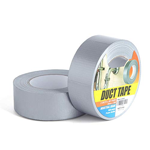 - Industrial Grade Duct Tape - 2Rolls 1.88