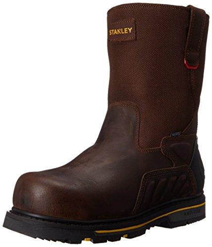 Stanley Men's Exploit Steel Toe Work Boot, Brown, 10 W (Construction Work Boot)