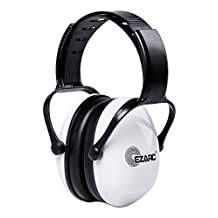 EZARC Comfortable Women and Kids Safety Ear Muffs 30dB for Hearing Protection - Noise Reduction Earmuffs for Shooting Sports Events Reading,White