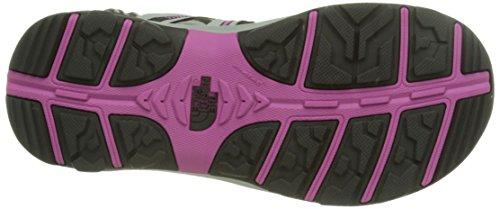 The North Face W Hedgehog Sandal II - Sandalias Deportivas Mujer Multicolor (Paloma Grey / Raspberry Rose)