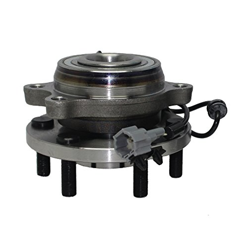 Detroit Axle Front 4x4 Wheel Hub and Bearing Assembly 6-Lug - Driver or Passenger Side fits 4x4 Only