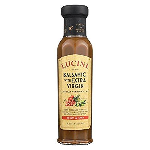 Lucini Italia Tuscan Balsamic and Extra Virgin Olive Oil Vinaigrette, 8.5 Ounce ()