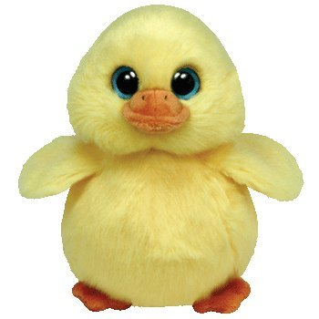 Amazon.com  Ty Beanie Babies DUCKLING - Yellow Chick Small Plush ... f22d108691a