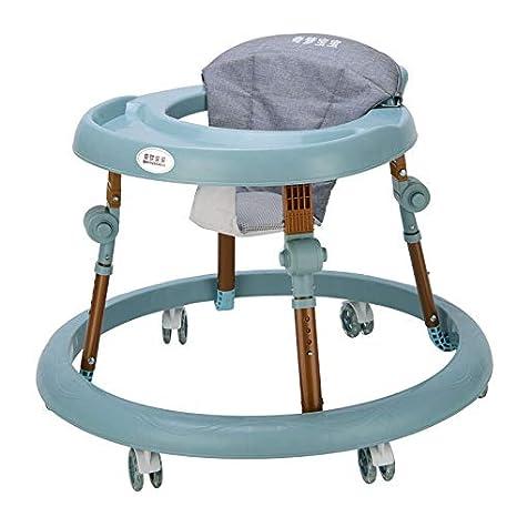 Andador de bebé portátil plegable con altura ajustable y ...