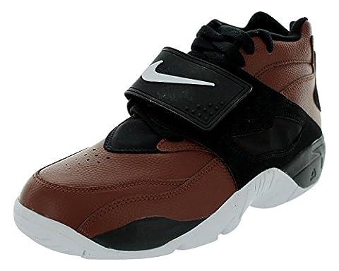 Nike Men's Air Diamond Turf Field Brown/White/Black Size 9.5 (Nike Diamond Cross)