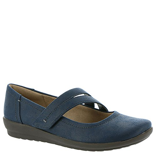 Aranza Women's Jane Easy Spirit Fabric Mary Flat Navy ng8xEwx