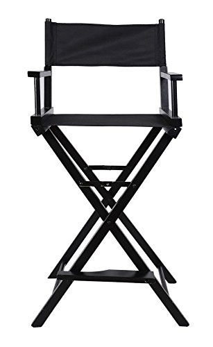 Professional Makeup Artist Directors Chair Wood Light Weight Foldable Black New by Unknown (Image #3)