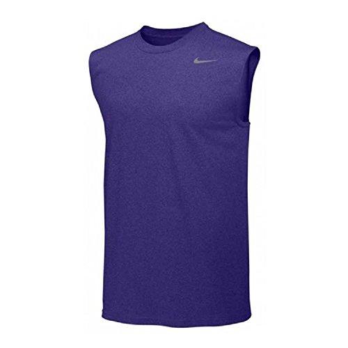 3d12824a Nike Menns Legende Dri Fit Ermeløs T Shirt Lilla - serr-grg.be
