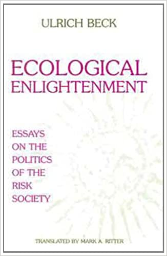 ecological enlightenment ulrich beck com ecological enlightenment ulrich beck 9781573923989 com books