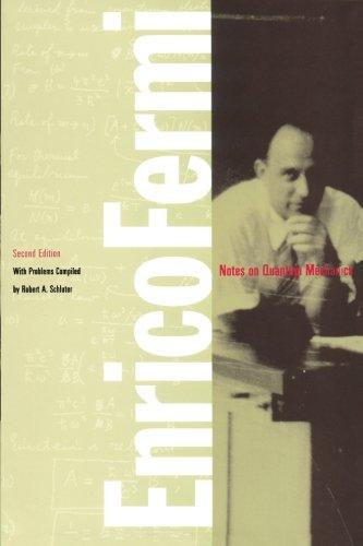 Notes on Quantum Mechanics