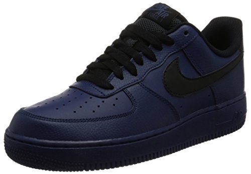 Turnschuhe Erwachsene 1 Air NIKE Black Unisex Force '07 Blue Binary Blau qRxnwY