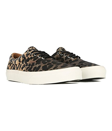 Vans Mens Era CA Ombre Dyed Cheetah Sneakers Black - Cheetah Print Vans
