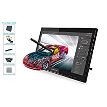 Huion GT-190 Pen Display Graphics Drawing Monitor for Professionals 2048 Levels Pressure Sensitivity 5080 LPI w/Glove and Screen Protector 19 inch