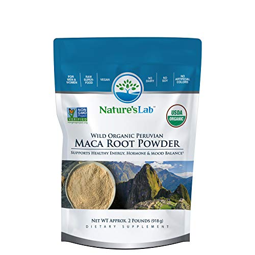 Maca Root Powder – 2lb (180 Servings) Premium Grade Raw Superfood Gelatinized for Maximum Bioavailability. Natural Energy No Jitters or Crashes. Raw Vitamins, Minerals and Amino Acids