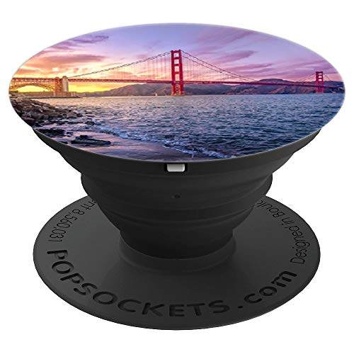 San Francisco Golden Gate Bridge - PopSockets Grip and Stand for Phones and Tablets ()