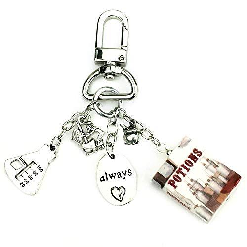 Amazon com: POTIONS School of Magic Clay Mini Book Key Chain