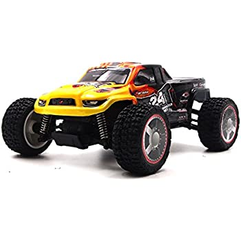 Carisma 58368 GR24MT 1/24 Scale Micro 4WD Monster Truck Ready to Run RC Vehicles