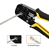 Uvital Dual-Modular Network Cable Cutting Stripping