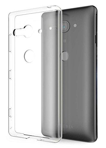 Tektide Case Compatible for Sony Xperia XZ2 Compact, [Invisible Armor] Drop Protection Soft Silicone Rubber TPU Case/Skin Cover/Bumper