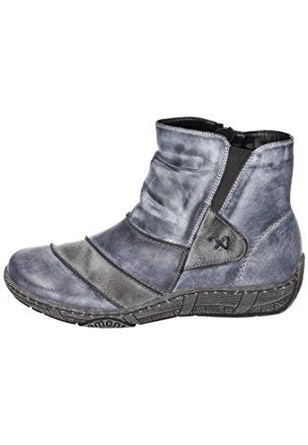Remonte Mujeres botines azul, (ozean/asphalt/jeans) D388014