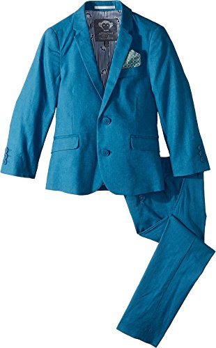 Appaman Kids Baby Boy's Two-Piece MOD Suit (Toddler/Little Kids/Big Kids) Teal 10 by Appaman Kids