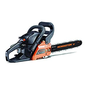 Remington 41AY4214983 RM4214CS 42cc Full Crank 2-Cycle Gas Powered Chainsaw 14-Inch Bar, Automatic Oiler, and Low…