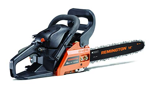 Remington 41AY4214983 RM4214CS Gas Chainsaw, Orange