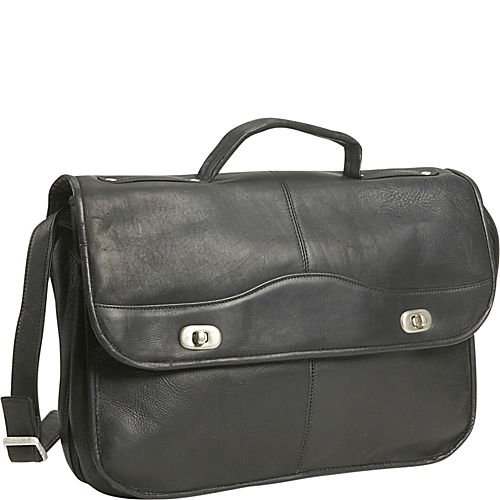 - David King & Co. 1/2 Flap Over Expandable, Black, One Size