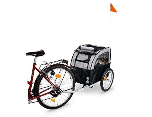 Karlie Doggy Liner Berlin Teflon Bicycle Trailer, 109 x 59 x 73 cm, Grey Black