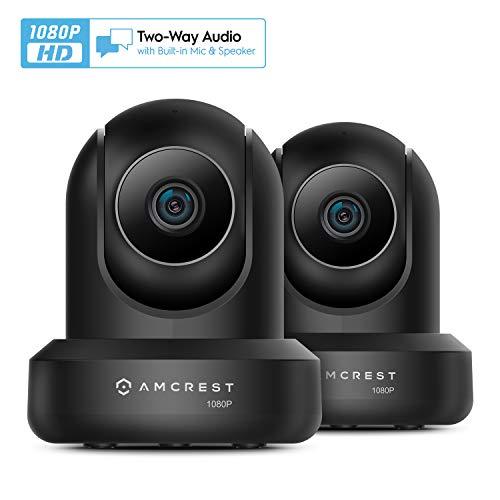 Amcrest 2-Pack 1080p WiFi Camera Indoor