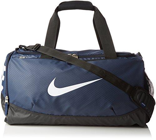 New Nike Team Training Max Air Medium Duffel Bag Midnight Navy/Black/White