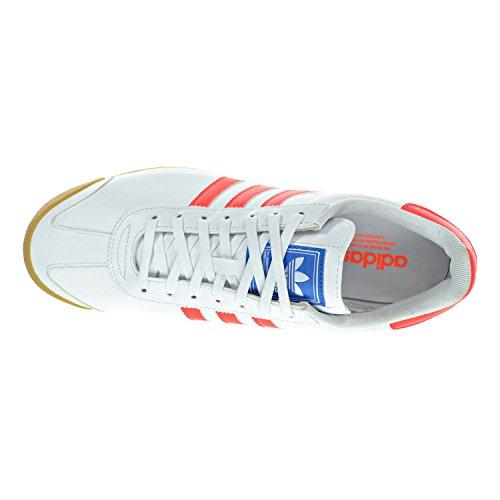 Adidas Samoa Casuale Dimensione Scarpe Da Uomo Bianco / Rosso Solare / Gum
