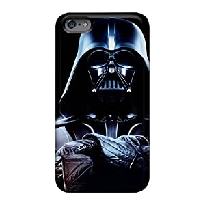 Shock Absorption Hard Phone Cases For Apple Iphone 6s With Custom Trendy Darth Vader Game 1625 Series JoannaVennettilli