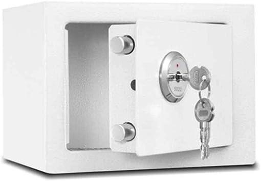 Cajas Fuertes Cajas fuertes, todo el acero a prueba de manipulaciones se puede incrustar, la llave mecánica segura se puede colocar en el cajón de la oficina del armario Gabinete De Seguridad: