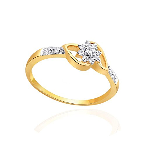 Giantti Women's 14KT Diamond Ring - IGL Certified (0.201 Ct, I1 Clarity, GH-Colour) by Giantti