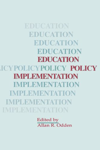 Education Policy Implementation (Educational Leadership Ser)