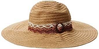 San Diego Hat Company Women's Hemp Floppy, Brown, One Size